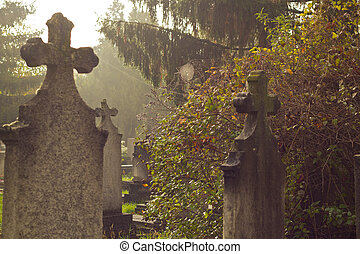 old gravestones