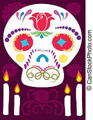 Day of the Dead 6 - is an illustration in an EPS file