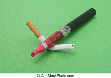 Dejando, Fumar