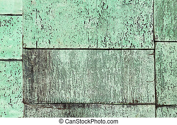 Scratched and weathered patina background