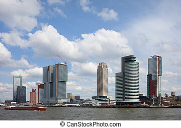 City of Rotterdam Skyline