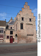 Prison Gate in The Hague - Prison Gate medieval landmark in...