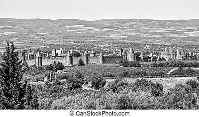 Carcassonne is a fortified French town in the Aude...