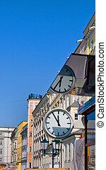 austria, linz's main square