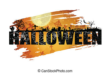 Halloween Background - illustration of Halloween background...
