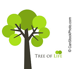 Tree of life concept. Vector illustration