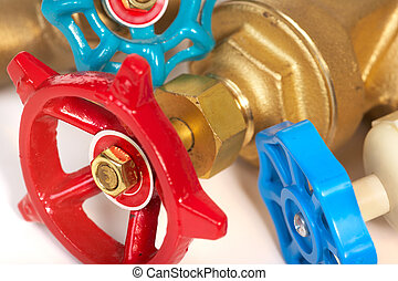 The tool of the plumber. The plumbing - The tool of the...