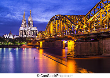 Cologne Germany - Cologne Cathedral in Cologne, Germany.