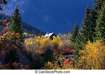 Beautiful landscape in Colorado