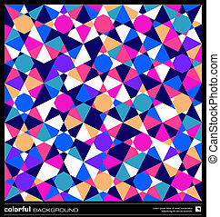 seamless pattern background. abstract colorful mosaic vector...