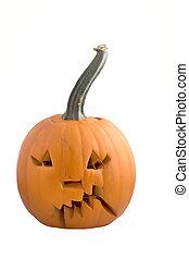 Carved pumpkin - carved pumpkin for halloween