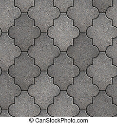 Pavement Seamless Tileable Texture - Gray Figured Pavement...