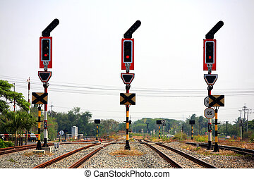 stop signalling for railway junction