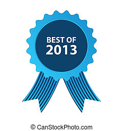 blue best of 2013 badge with ribbon blue best of 2013 badge...