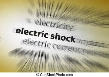 Elétrico, choque