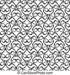 seamless floral pattern background