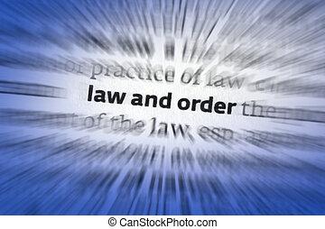 ley, orden