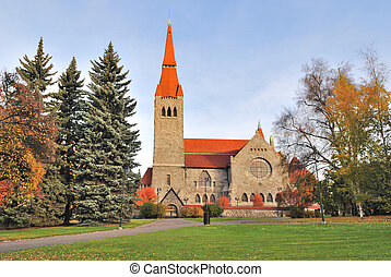 Tampere cathedral, Finland - Tampere, Finland. The cathedral...