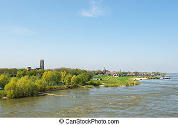 Zaltbommel in Holland - Village Zaltbommel in Holland at...