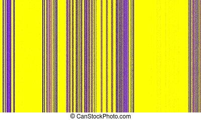 Vertical Magenta Purple Lines on Yellow, Seamless Loop...