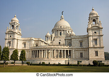 Victoria Memorial - Kolkata ( Calcutta ) - India - Landmark...