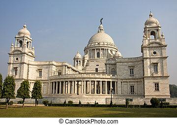 Victoria Memorial - Kolkata ( Calcutta ) - India - Landmark...