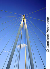 Millennium bridge - Millennium footbridge In London UK