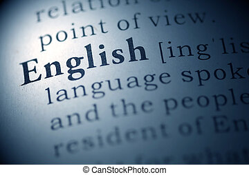 English - Dictionary definition of the word English