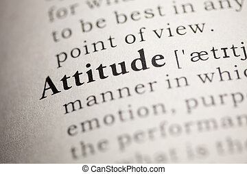 Attitude - Fake Dictionary, Dictionary definition of the...