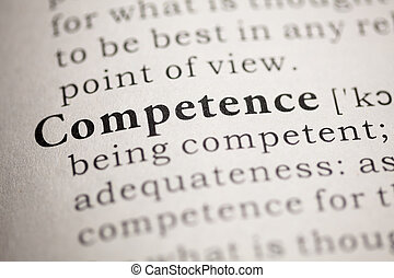 Competence - Fake Dictionary, Dictionary definition of the...