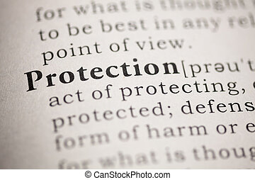 Protection - Fake Dictionary, Dictionary definition of the...