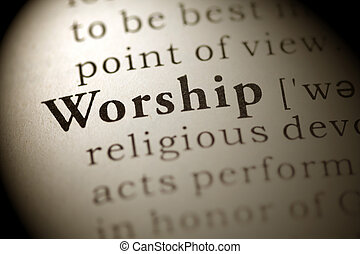 Worship - Fake Dictionary, Dictionary definition of the word...