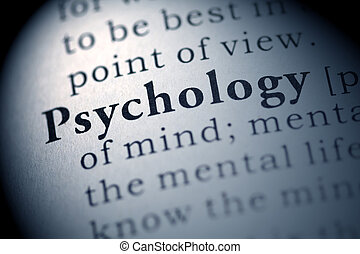Psychology - Fake Dictionary, Dictionary definition of the...