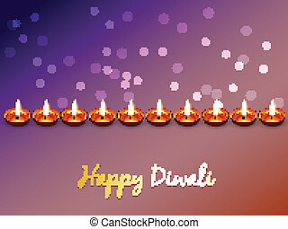 happy diwali vector - stylish elegant happy diwali vector...