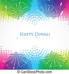 happy diwali greeting - beautiful colorful happy diwali...