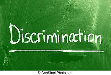 discriminação, conceito