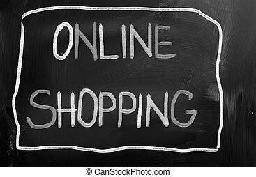 Online Shopping Concept