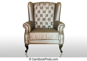 Vintage luxury armchair