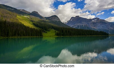 Emerald Lake, Time Lapse - Yoho National Parks Emerald Lake...