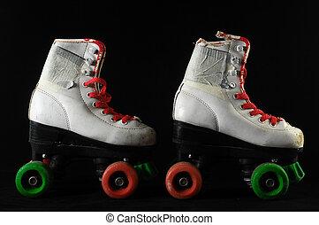 Consumed Roller Skate - Used Vintage Consumed Roller Skate...