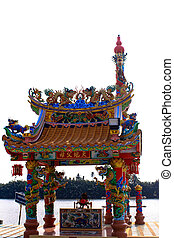 Traditional Chinese style temple