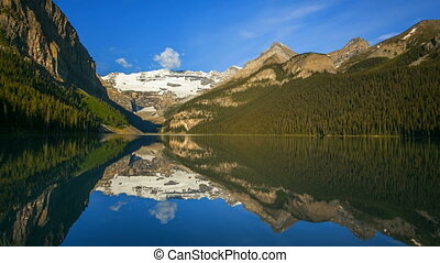 Lake Louise, Time Lapse - Banff National Park, Canada, Lake...