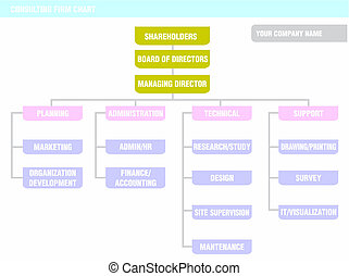 Organization Chart: consulting firm - Possible organization...