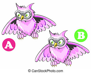 Spot the 7 differences - Game for childrens: find the 7...