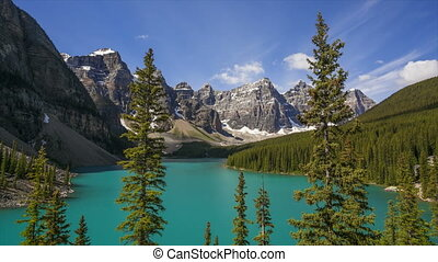 Moraine Lake, Time Lapse