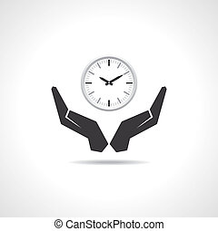 save time concept  - Illustration of save time concept