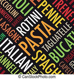 pasta background - square pasta background