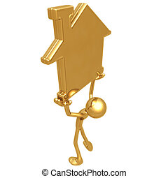 Golden Home Realty - 3D Concept And Presentation Figure