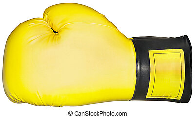 Boxing Glove Cutout - Boxing Glove Isolated with Clipping...