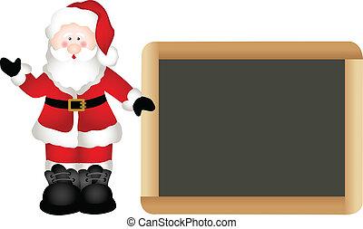 Christmas Santa Claus - Scalable vectorial image...